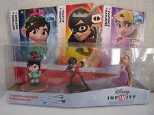 Disney Infinity - 3er figurenset (vanellope, violetta, rapunzel) - NEUF & OVP