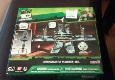 New 2012 Ben 10 Omniverse Intergalactic Plumber Jail W/ Exclusive Solid Plugg Fi