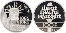 Pièces de monnaie françaises de 100 francs en argent 100 Francs
