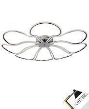 Plafonnier Led 8-flammig Artichoke Chrome Blanc 52W Lampe Plafond