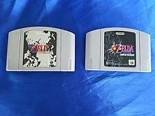 Nintendo 64 The Legend of Zelda set Ocarina of Time / Majora's mask Japan N64