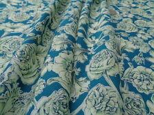 Liberty Of London Cotton 100% Tana Lawn 'Sheree' Green (per metre)