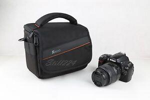 FUJI X-Pro1 Camera Bag Shoulder Strap Water Resistant Extra Pocket for Lense
