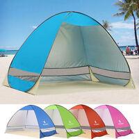 Pop Up Portable Beach Tent UV Sun Protective Camping Fishing Shade Shelter