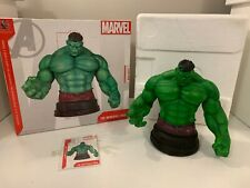 INCREDIBLE HULK MINI BUST GENTLE GIANT GREEN VERSION MARVEL COMICS AVENGERS Box