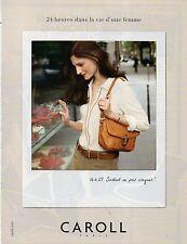 Publicité Advertising 2011  CAROLL  pret à porter collection mode accessoires