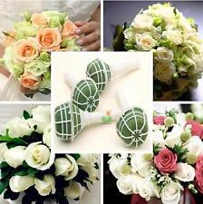 TI AU 1X Foam Bouquet Holder Handle Bridal Floral Wedding Flower DIY Decoration