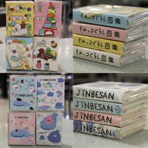 1 Set (4 Designs x 4 Patterns) Jinbesan Sumikko Gurashi Cute Note Pad Memo