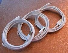 3X - 8 Pin 2M Lightning Cable fits iPhone 5/6 - 100% OEM/MFi Specs - FREE SHIP!