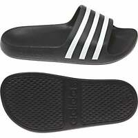 ADIDAS Juniors Adilette Aqua Slides (Black)