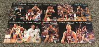 Chris Mullin 1992 Skybox USA Basketball 10 Card Factory Uncut Sheet Rare!