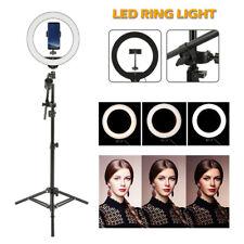 Studio 160 LED Ring Light con supporto Dimmable Photo lampada video fotocamer