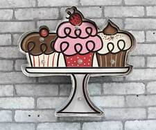 Marquee Light Ice Cream LED Metal Signs Bar Shop Store Decor Battery Operated
