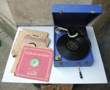 Gramophones et phonographes de collection Orphee