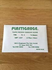 """Plastigauge 0.007""""-0.020"""" 0.175mm-0.500mm"""
