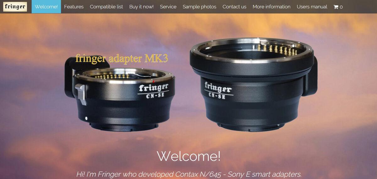 Fringer lens adapters