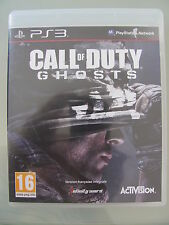 JEU PS3 PLAYSTATION 3 @@ SONY @@ CALL OF DUTY GHOSTS @@ COMPLET @@ ETAT NEUF