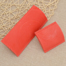 Home Wall Painting Wood Grain Pattern Roller Rubber Decoration Texture Tool 2Pcs