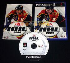 NHL 2004 Ps2 Versione Ufficiale Italiana 1ª Edizione ••••• COMPLETO