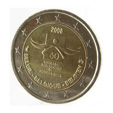Pièce commémorative de Belgique 2008.