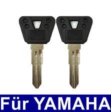 2x Schlüssel Rohling für YAMAHA Motorrad DT125 FZ400 FZR400 FZR600 RD350 XJ900S