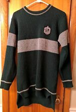 OFFICIAL Lochaven Slytherin Quidditch Sweater NWOT Size L