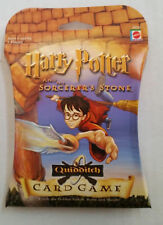 HARRY POTTER Quidditch Card Game NEW Sealed Sorcerers Stone Mattel