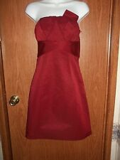 NWT~THE LIMITED EVENT BURGUNDY STRAPLESS FORMAL WEAR/COCKTAIL DRESS~SIZE 4~$98