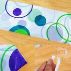 1Pc Polyester Waterproof Fabric Bathroom Shower Curtain Random Pattern & Hooks