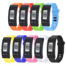 Sports LED Run Wrist Watch Bracelet Pedometer Fitness Calorie Walk Counter Watch