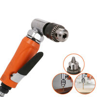 "1/2"" Chuck Pneumatic Air Drill Right Angle for Drilling Wood Home Tool 700RPM"