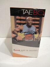 Tae Bo Live Workout Fitness Exercise Videos (VHS, factory sealed, 5-Tape Set)