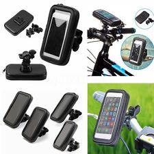 Bolsa Funda Moto Soporte Montaje Bicicleta Impermeable para Teléfono Móvil GPS