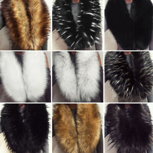 New Women Flurry Faux Fur Winter Collar Scarf Shawl Wrap Stole Scarf Cape