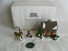 Dept 56 - Dickens Village - Tending The New Calves - Mib - Set of 3 - #58395