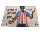 Wembley Barbecue Apron Patriotic Star Spangled Red/White/Blue Neck Strap NEW
