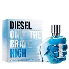 Diesel ONLY THE BRAVE HIGH 125ml Eau De Toilette EDT NEW & CELLO SEALED