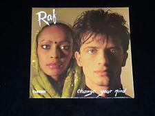 45 tours SP - RAF - CHANGE YOUR MIND -  1984 - ITALO