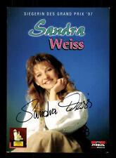 Sandra Weiss Autogrammkarte Original Signiert ## BC 88675