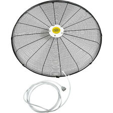 Front Fan Grille With Misting Feature For 30' Pedestal And Wall Mounted Fan New