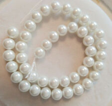 """Wholesale 8mm 10mm South Sea Shell Pearl Loose Beads AAA 15"""""""