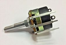 PC345 10K ohm-A = audio taper 24mm potentiometer on/off switch combo terminals