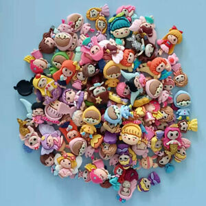 30pc Assorted Resin Cartoon Girls Flatback Buttons Cabochons for Crafts Decor