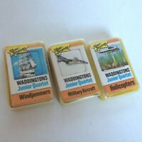 WADDINGTONS JUNIOR QUARTET STAR TRUMP 1970s HELICOPTERS MILITARY AIRCRAFT SHIPS