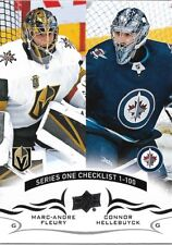 Marc-Andre Fleury / Connor Hellebuyck #199 - 2018-19 Series 1 - Base Checklist