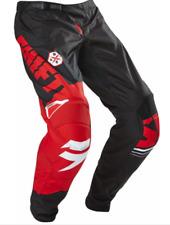 SHIFT ASSAULT motocross pants NEW #40 Black Red Dirt bike MX ATV Dirt bike