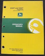 ORIGINAL JOHN DEERE 9300T 9400T TRACTOR OPERATORS MANUAL SER #90,257 and up NICE
