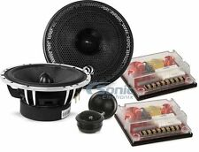"Massive Audio XK6 400W RMS 6.5"" Convertible Coaxial/Component Car Speaker System"