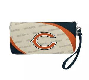 NFL Chicago Bears Women's Curve Zip Organizer Wallet / Purse