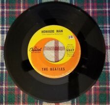 Vintage 45 RPM The Beatles Nowhere Man & What Goes On Capitol 5587 1966